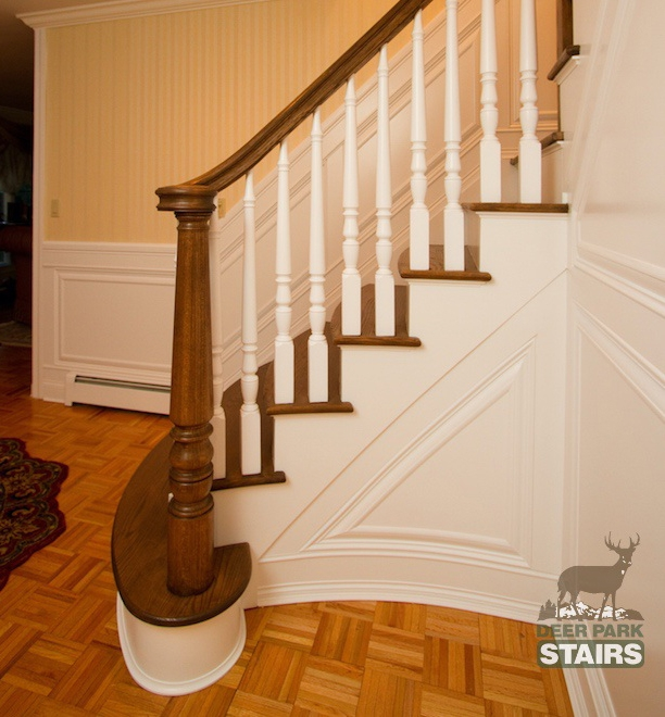 Long Island Custom Stair Builders – Deer Park Stairbuilding And   Second Generation Wood Stairs   Railing   Presentation Transcript   Powerpoint Presentation   Interior Stair   Railing Systems