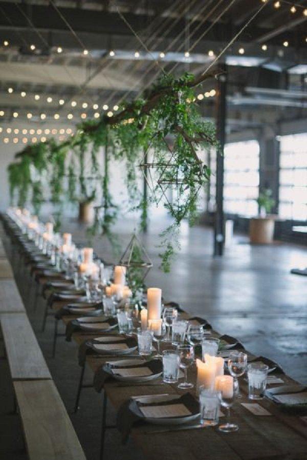 30 Rustic Industrial Wedding Ceremony Decor Ideas  Deer