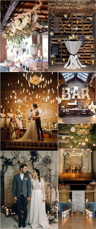 30 Rustic Industrial Wedding Ceremony Decor Ideas  Deer Pearl Flowers  Part 2