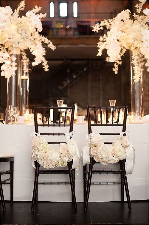 30 Chair Decor Ideas With Florals for SpringSummer Weddings  Deer Pearl Flowers