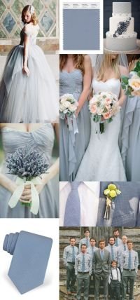 23 Slate and Dusty Blue Wedding Ideas | Deer Pearl Flowers
