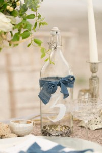 Rustic Dusty Blue Country Wedding Decor | Deer Pearl Flowers