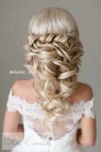 40 Stunning Half Up Half Down Wedding Hairstyles with ...