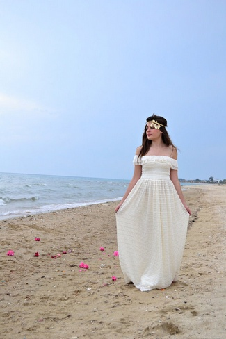 60 Swoon Worthy Beach Wedding Dresses New Deer Pearl
