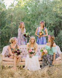 50 Chic Bohemian Bridesmaid Dresses Ideas | Deer Pearl Flowers