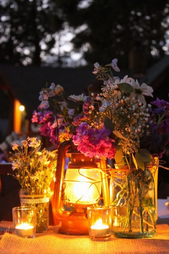 30 Sweet Rustic Camp Wedding Ideas  Deer Pearl Flowers