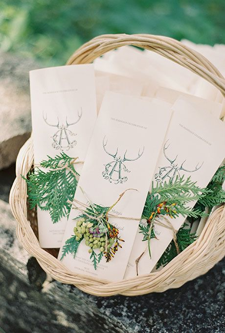 84 Ways To Use Antlers For Your Rustic Wedding Deer