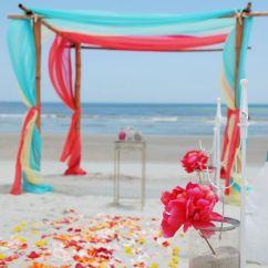 Blush Chair Sashes Cedar Rocking 50 Beach Wedding Aisle Decoration Ideas | Deer Pearl Flowers