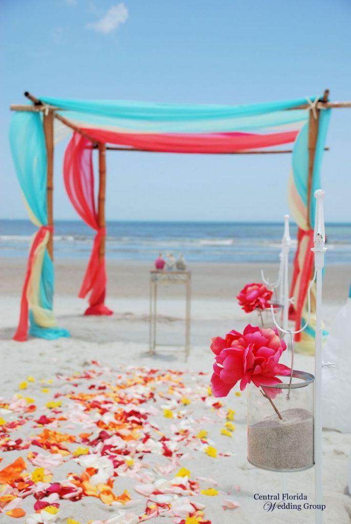 blush chair sashes pads non slip 50 beach wedding aisle decoration ideas | deer pearl flowers