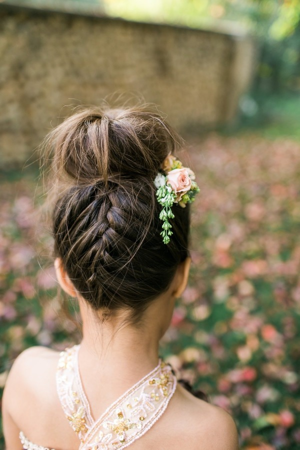 38 Super Cute Little Girl Hairstyles For Wedding Deer Pearl Flowers