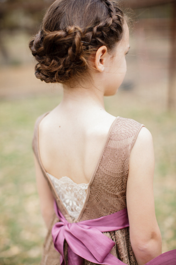 38 Super Cute Little Girl Hairstyles for Wedding