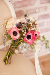 40 Anemone Wedding Ideas (Bouquets, Cakes and Invitations ...