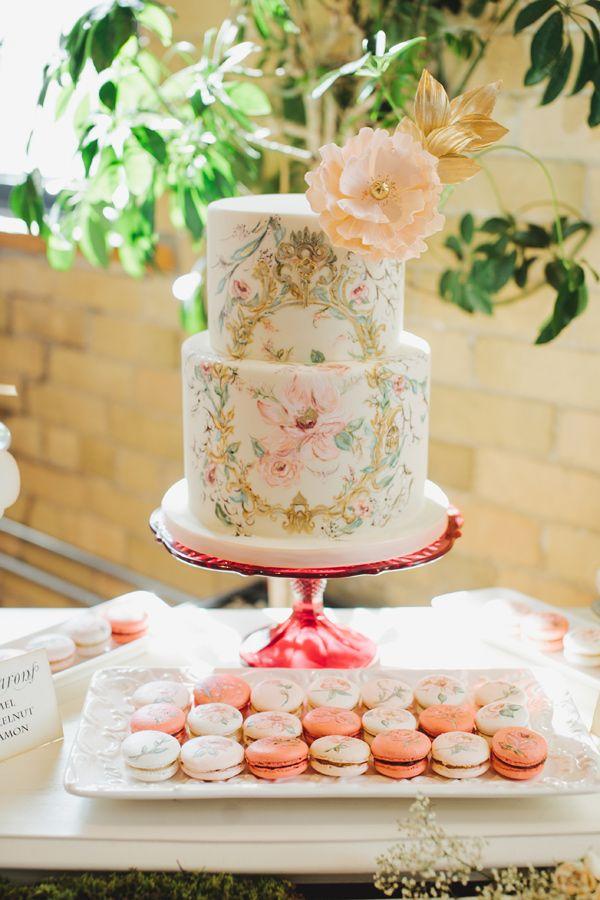 20 Subtle Watercolor Wedding Cake Ideas Deer Pearl Flowers