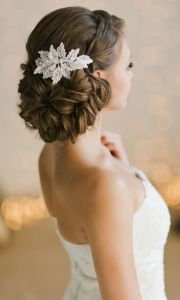 bridal updos and wedding hairstyle