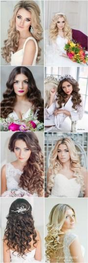 classic dwon wedding hairstyles