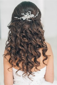 Top 20 Down Wedding Hairstyles for Long Hair | Deer Pearl ...