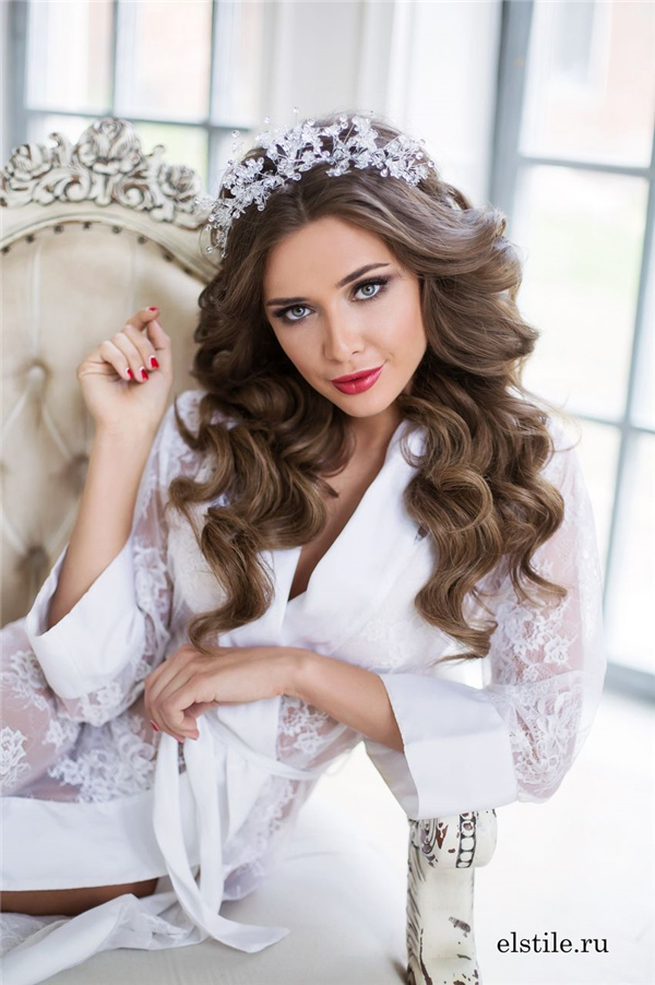 Top 20 Down Wedding Hairstyles For Long Hair Deer Pearl