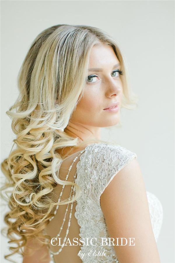 Top 20 Down Wedding Hairstyles for Long Hair  Deer Pearl Flowers