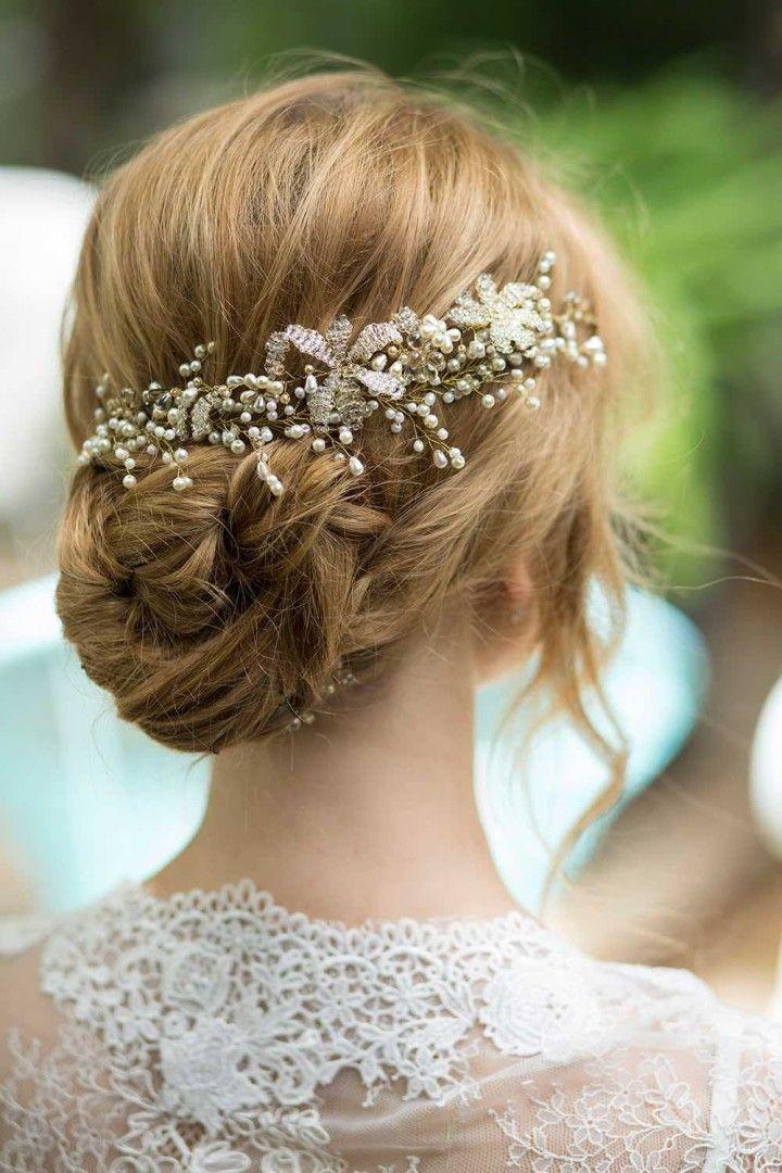 20 Bridal Hairstyles for A Romantic Glam Look  Deer Pearl Flowers