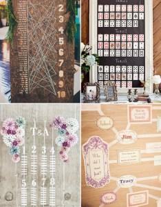 Fun games wedding reception seating chart also deer pearl flowers rh deerpearlflowers