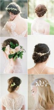 long wedding hairstyles &
