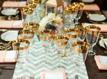 25 Lovely Mint and Gold Wedding Ideas | Deer Pearl Flowers