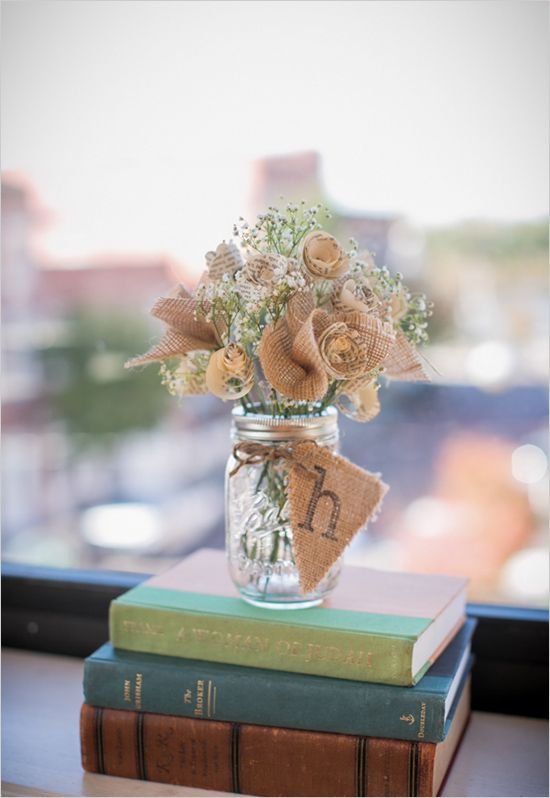 50 Adorable Book  Literary Wedding Ideas  Deer Pearl Flowers