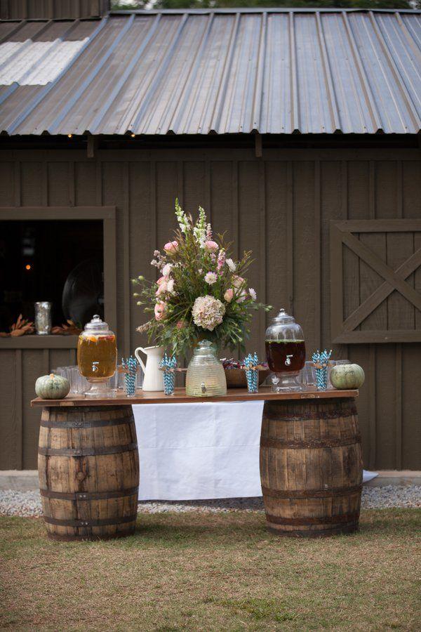 35 Creative Rustic Wedding Ideas to Use Wine Barrels  Deer Pearl Flowers