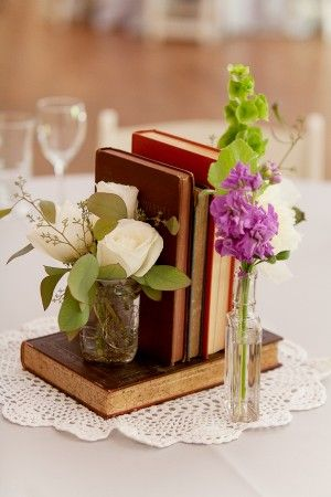 50 Adorable Book  Literary Wedding Ideas  Deer Pearl Flowers
