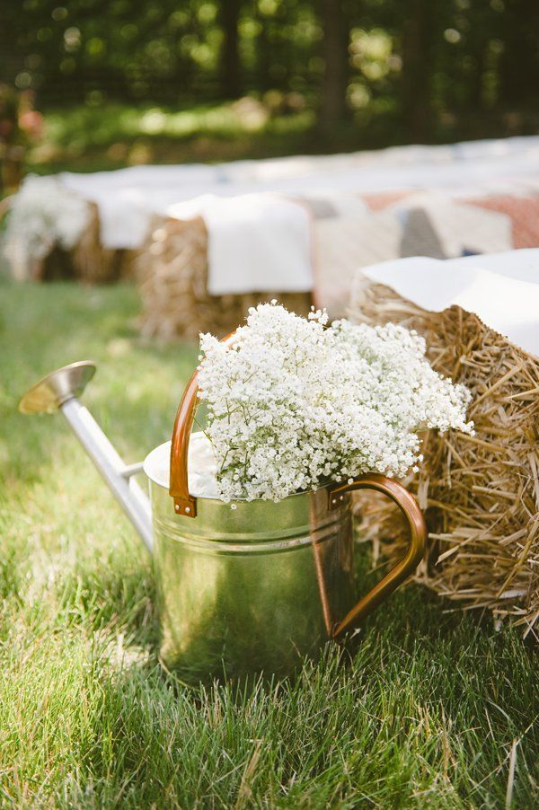 Top 15 Rustic Country Wateringcan Wedding Ideas  Deer