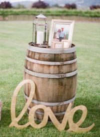 35+ Creative Rustic Wedding Ideas to Use Wine Barrels ...