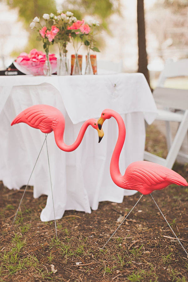 15 Super Cute Pink Flamingo Wedding Ideas  Deer Pearl Flowers
