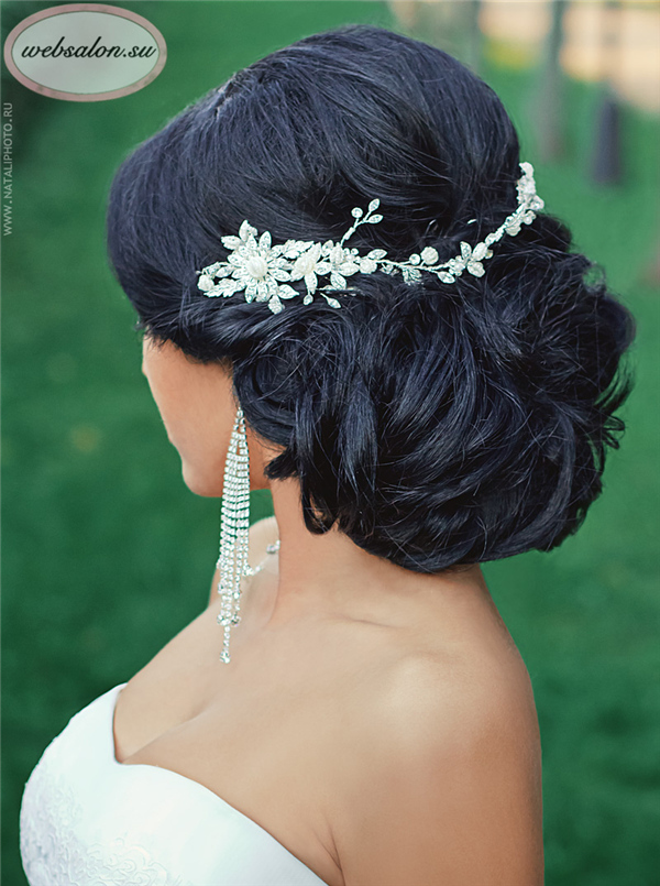 Top 25 Stylish Bridal Wedding Hairstyles for Long Hair  Deer Pearl Flowers