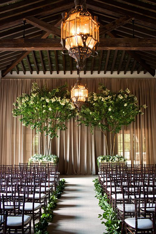 35 Dreamy Indoor Wedding Ceremony Backdrops  Deer Pearl Flowers