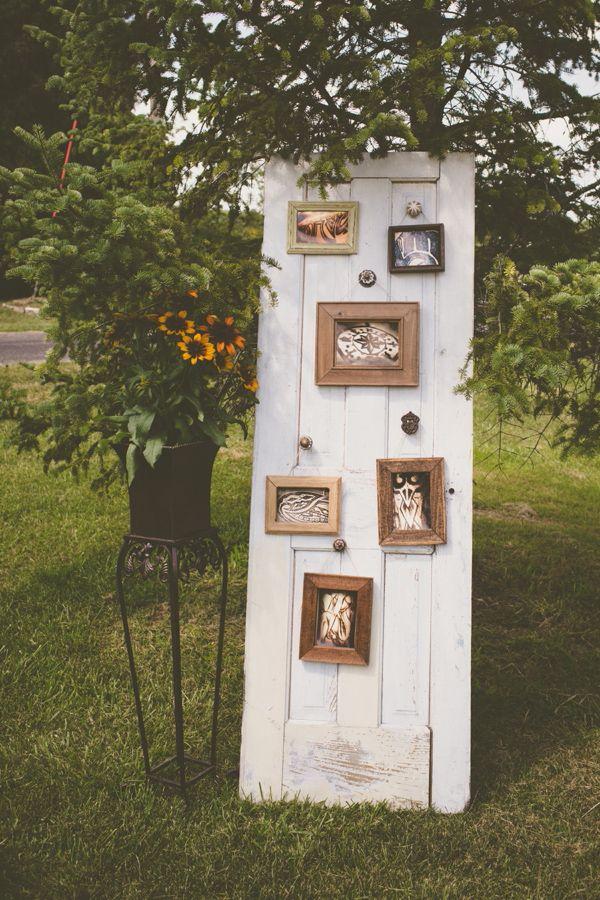 35 Rustic Old Door Wedding Decor Ideas for Outdoor Country Weddings  Deer Pearl Flowers