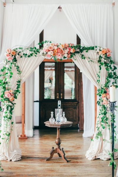 35 Dreamy Indoor Wedding Ceremony Backdrops  Deer Pearl Flowers