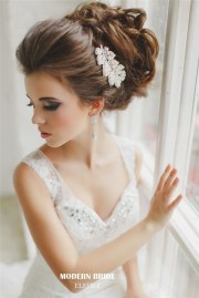 beautiful updo wedding