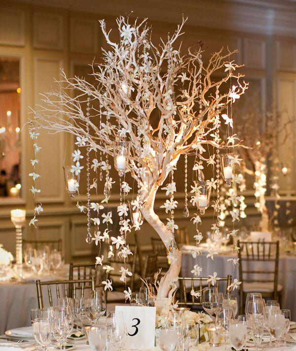 40 Stunning Winter Wedding Centerpiece Ideas Deer Pearl Flowers