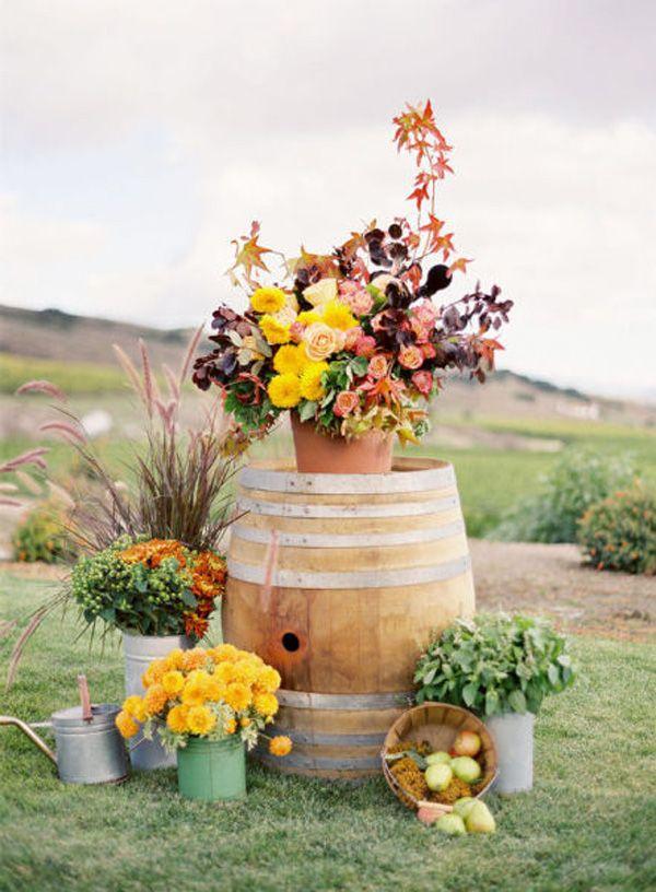 Fall Outdoor Country Wedding Ideas