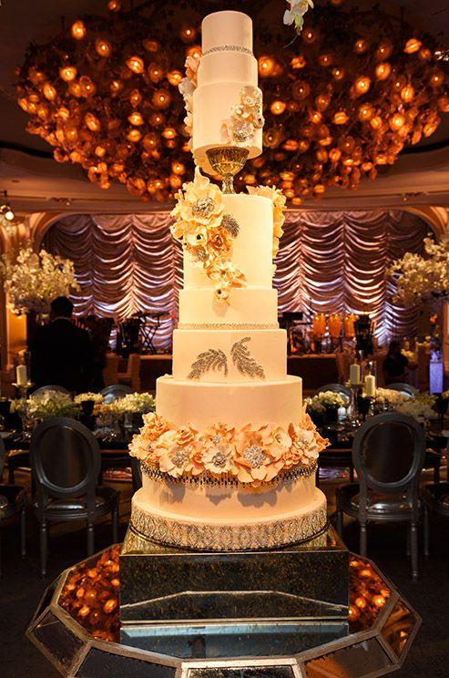 Top 13 Most Beautiful Huge Wedding Cakes Deer Pearl Flowers