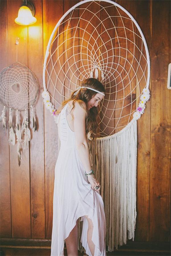 30 Dreamcatchers Boho Wedding Decor Ideas  Deer Pearl Flowers