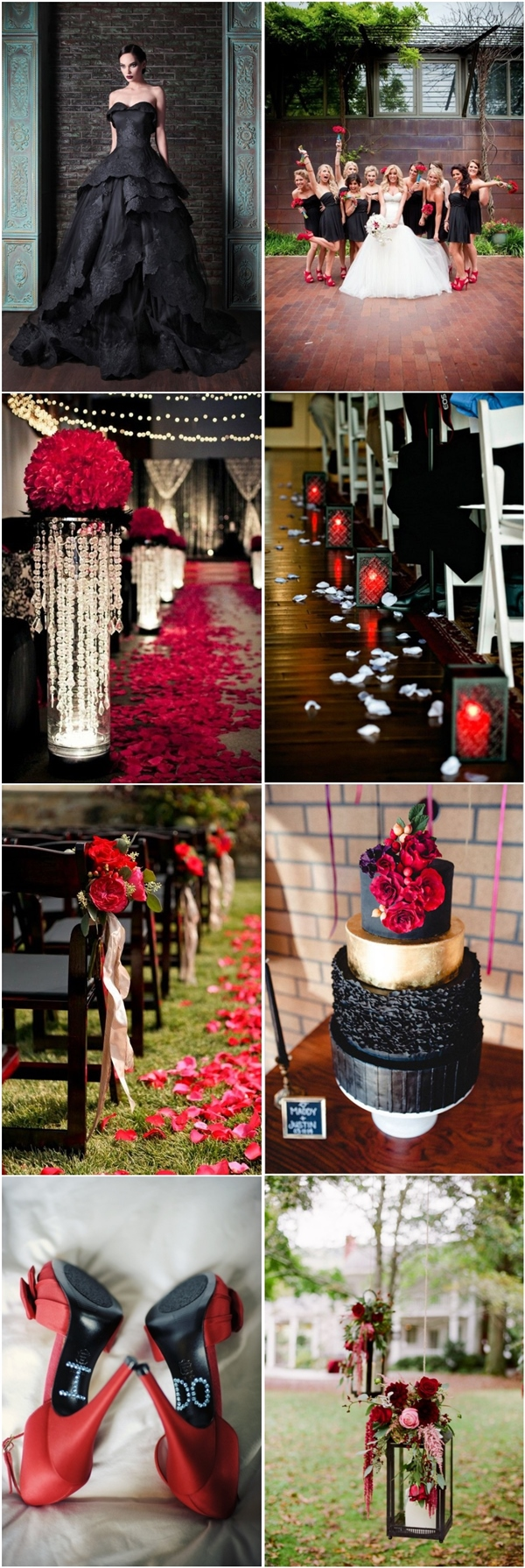 35 Red And Black Vampire Halloween Wedding Ideas Deer