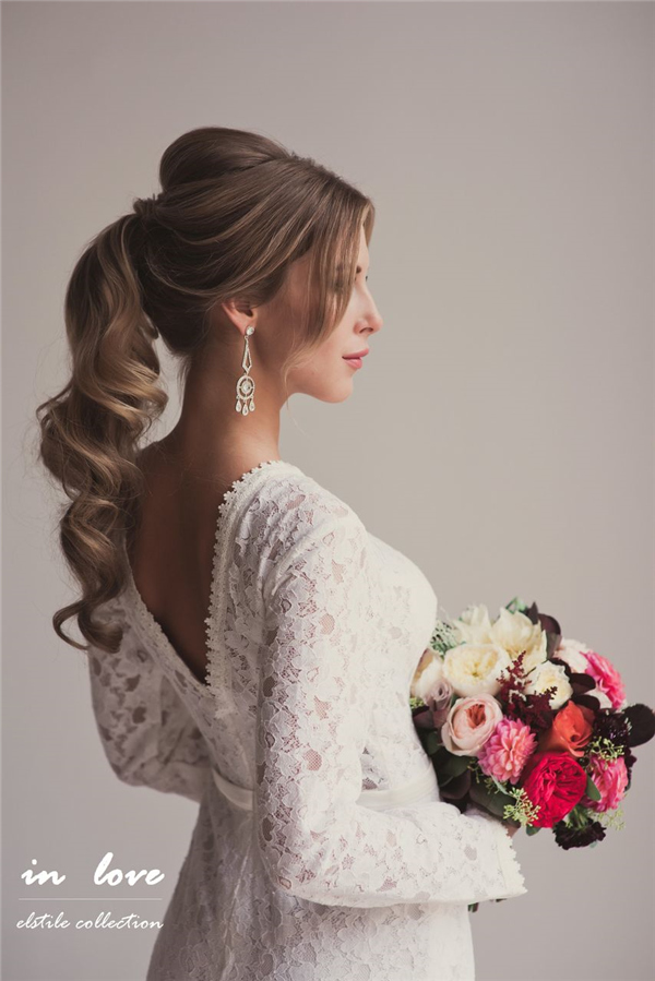 Wedding Side Hairstyles For Long Hair