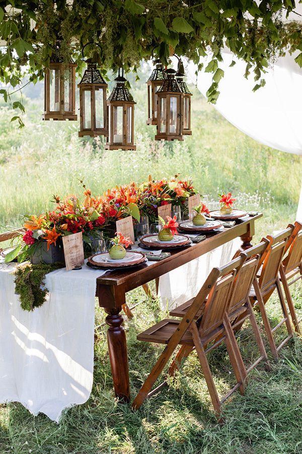 30 Woodland Wedding Table D 233 Cor Ideas Deer Pearl Flowers