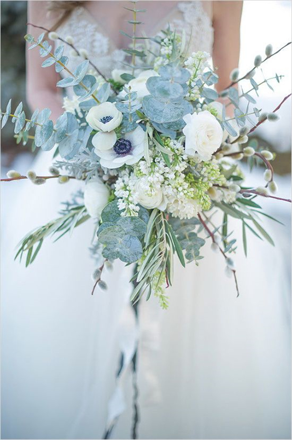 35 Amazing Winter Wedding Bouquets Youll Love  Deer Pearl Flowers