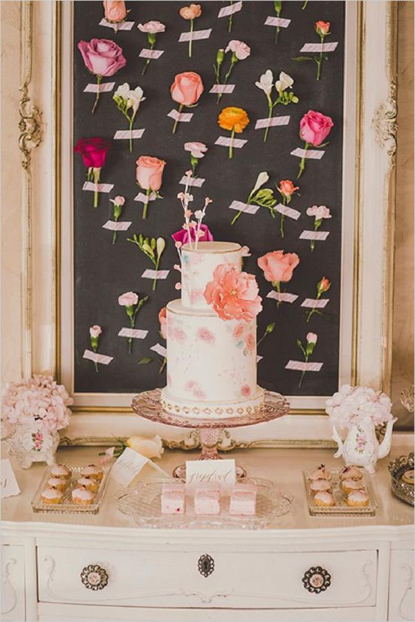 27 Amazing Wedding Cake Display  Dessert Table Ideas  Deer Pearl Flowers