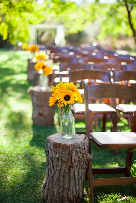 beach chairs big lots orange chair covers 40 amazing outdoor fall wedding décor ideas | deer pearl flowers