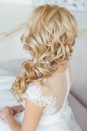 bride's favorite wedding hair