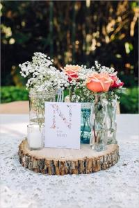 35 Rustic Backyard Wedding Decoration Ideas | Deer Pearl ...