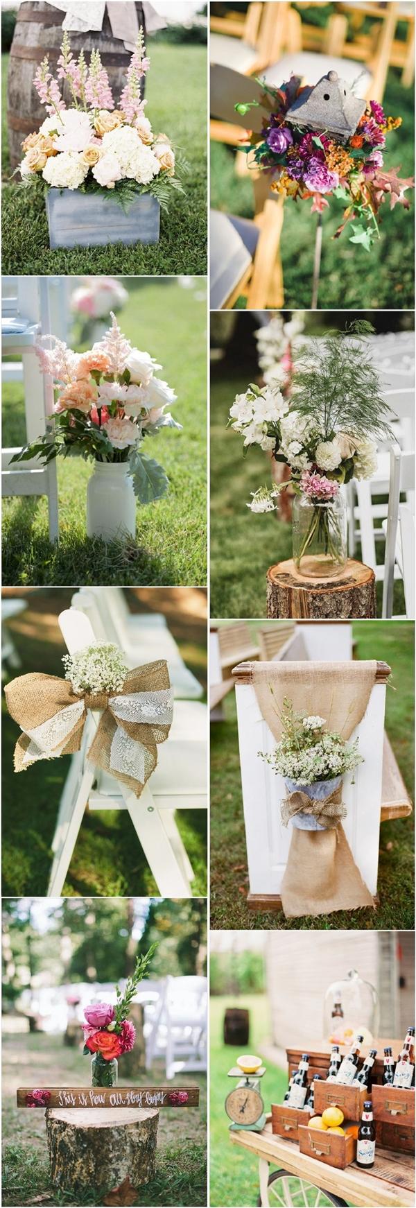 30 Rustic Backyard Outdoor Garden Wedding Ideas Deer Pearl Flowers